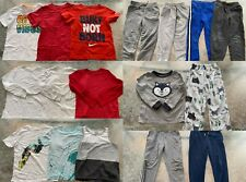 Lot of 20 Boy's Clothes T-Shirt/Pants/Pajama Size 6-7 Spring/Summer/Fall