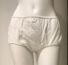 Vtg 1960s Cotton Panty, Full-Cut/Hip-Hugger Hippie Undies. Sz. 10, Medium. NwT