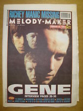 MELODY MAKER 1995 FEB 25 GENE RADIOHEAD SLEEPER BELLY
