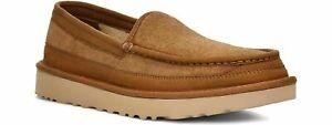 UGG Dex Slip On Loafers Slippers (Men's Size 8 - 15) Chestnut Suede Sheepskin