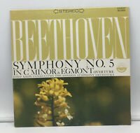 Beethoven - Krips - Symphony No. 5 In Cm & Egmont Overture LP NM Record 3086