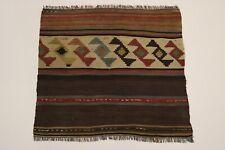 Alte Nomaden Shahsavan Kelim Unikat Perser Teppich Orientteppich 0,70 X 0,75