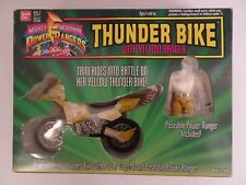 Power Rangers - Thunder Bike with Yellow Ranger Moto Figurine Jaune 1994 Bandai