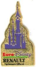 Disney Euro Disney Renault Castle sponsor Pin