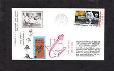 Space NASA Local Post 5c Tied Apollo 13 Backside Moon Houston1970 Unaddressed y