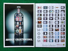 Pubblicità Advertising Cartolina vodka (Italy) ABSOLUT COLLECTION 2005  321/5996