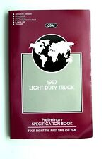 1997 ford truck owners specification workshop service repair manual f150 expedit