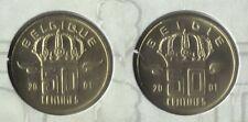 50 cent 2001 fr+vl * uit muntenset * FDC / UNC *
