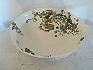 Antique Victorian Washbowl Wash Bowl Aesthetic