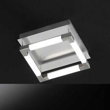 Honsel lámpara LED de techo STICK Níquel Acrílico Blanco Regulable 25 vatios