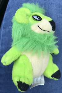 2004 Neopets McDonald's Green Yurble With Tush Tag Only
