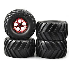 RC 4X 135mm Rubber Tires&Wheel 12mm Hex For HSP HPI 1:10 Bigfoot MonsterTruck