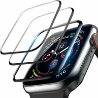 3-Pack For Apple Watch 5 4 3 2 Full Cover Screen Protector iWatch 38/42 40/44mm