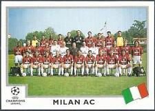 PANINI UEFA CHAMPIONS LEAGUE 1999-00- #290-AC MILAN TEAM PHOTO