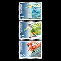 Liechtenstein 1997 - Olympic Winter Games - Nagano 1998, Japan - Sc 1110/2 MNH