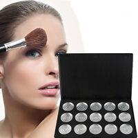 15PCs/Box 26mm Empty Magnetic Cosmetics Makeup Eyeshadow Aluminum Palette Pans