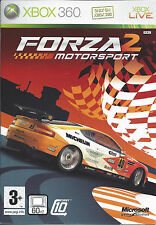 FORZA MOTORSPORT 2 for Xbox 360 - with box & manual - PAL