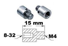 Adaptateur de filetage 8-32 M4 Thread adapter adaptor External metric imperial