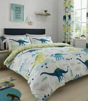 Dino Glow in the dark  Reversible Duvet cover set and Accessories by Bedlam