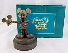 "WDCC ""Mickey with Ears"" Bronze Colored Figurie from Blast from the Past 2004 Box"