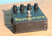 Tech 21 NYC Sans Amp GT2 Tube Amp Emulator Overdrive Preamp Guitar Effect Pedal