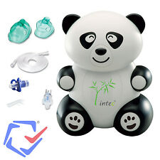 Panda Inhalator Set + Zubehör Vernebler Masken Inhalierer Inhalationsgerät NEU