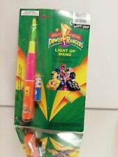 1993 Saban Mighty Morphin Power Rangers Color Light Up wand 555