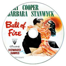 Ball Of Fire 1941 Classic DVD Film - Comedy, Romance