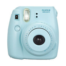 Fuji Instax Mini 8 Fujifilm Instant Film Camera Blue