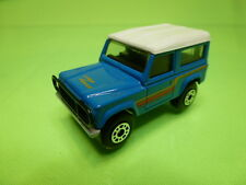 MATCHBOX LAND ROVER NINETY - BLUE 1:62 - GOOD CONDITION