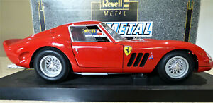 1/12 Ferrari 250 GTO in Red. Second release. Excellent. Boxed. Revell 08853