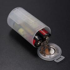 4pcs 2 AA to D Size Battery Adaptor Holder Switcher Case Box Base Converter Case