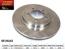 Disc Brake Rotor-Standard Brake Rotor Front Best Brake GP54143