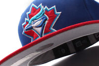 New Era Toronto Blue Jays MLB Blue Red Fitted Cap GR
