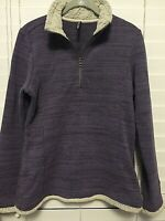 Kuhl Womens Alska Half Zip Fleece Pullover Size M Purple Style #4210