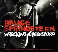BRUCE SPRINGSTEEN. WRECKING GREENBORO. 3 CD. SOUNDBOARD.