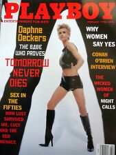 PLAYBOY MAGAZINE - Daphne Deckers - Feb. 1998