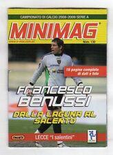 MINIMAG CAMPIONATO 2008-2009 - LECCE N. 130 FRANCESCO BENUSSI