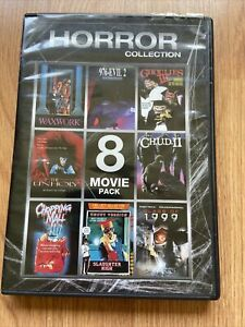 Horror Collection (2-DVD) Waxwork / Chopping Mall / Slaughter High & more!!