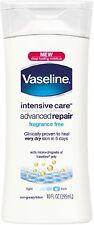 Vaseline Intensive Rescue Moisture Locking Lotion 10 oz (Pack of 6)
