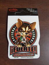 "Ifuerte Chihuahua Dog Auto Alarm Sticker 2 1/4""X2 1/4"" Square New"