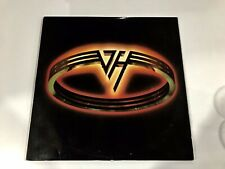 Van Halen Rare Hanging In The Wreckage Live 5150 1986 Double Vinyl LP Record WOW