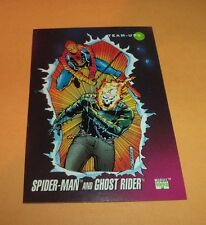 Spider-Man and Ghost Rider # 72 1992 Marvel Universe Series 3 Base Trading  Card