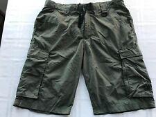 Boy Scout Uniform Cargo Shorts Adult Medium Camping Hiking Built In Brief Ts9