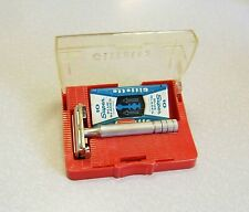 Vintage 1953 Gillette Super Speed TTO Double Edge Safety Razor Set