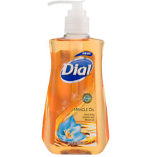 Dial Liquid Hand Soap, Miracle Oil 7.5 oz (Pack of 2)