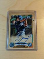 2019 Topps Gypsy Queen Autographs Luis Urias Auto RC San Diego Padres