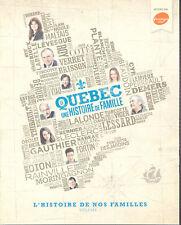L'histoire de nos familles : Volume I, Coll. éd. 7 Jours, 2012