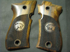 Beretta Cheetah 81/81B/81BB ONLY Pistol Grips French Walnut Chkd w/CHEETAH LOGO