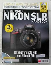Ultimate NIKON SLR Handbook 2016 + FREE DVD 228 Pages IMAGE EDITIING Guide VIDEO
